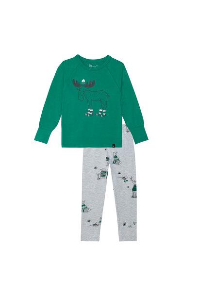 Pyjama Noël Polaire Vert