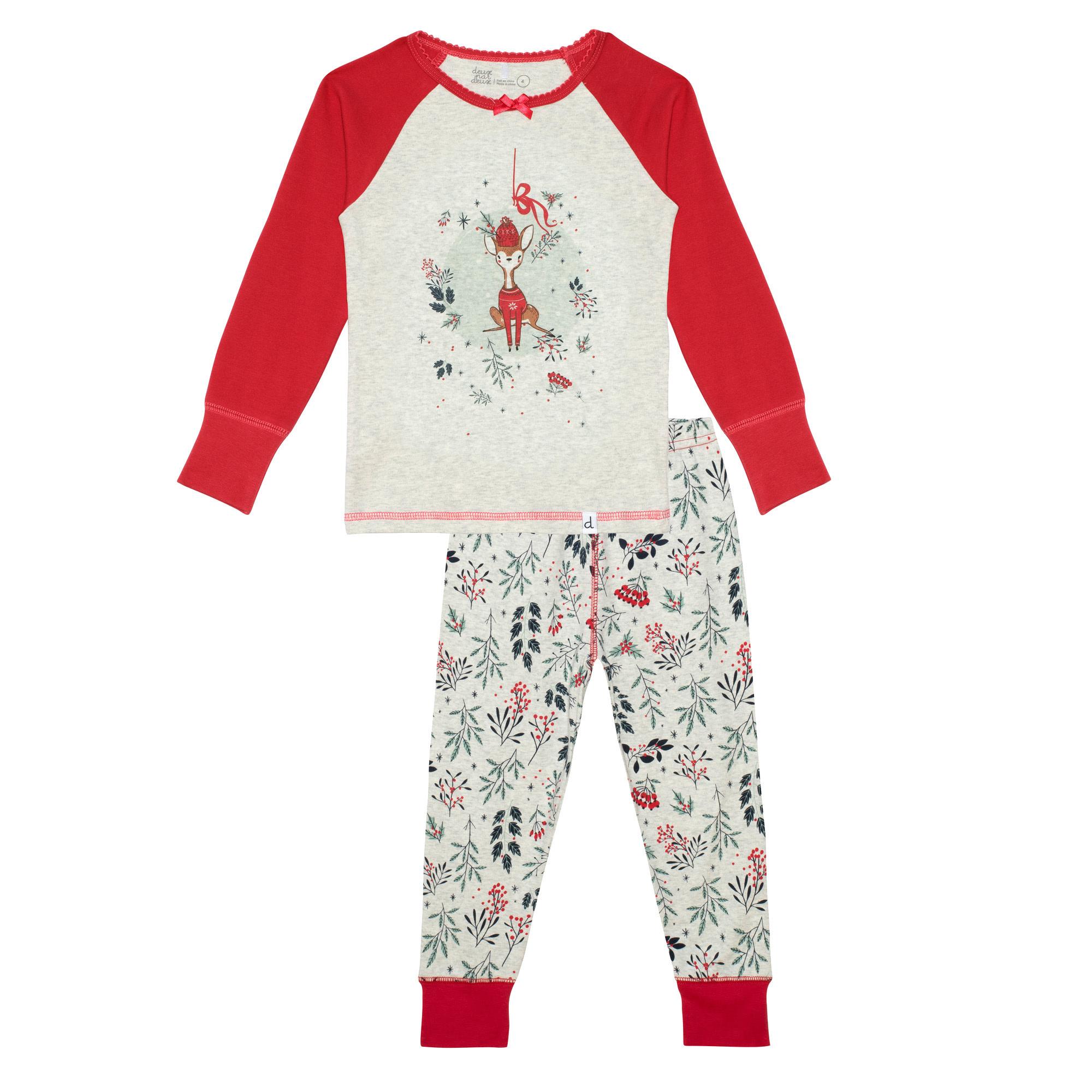 Pyjama Noël Cerf-1