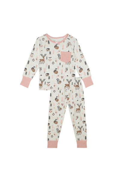 Pyjama Noël Forêt