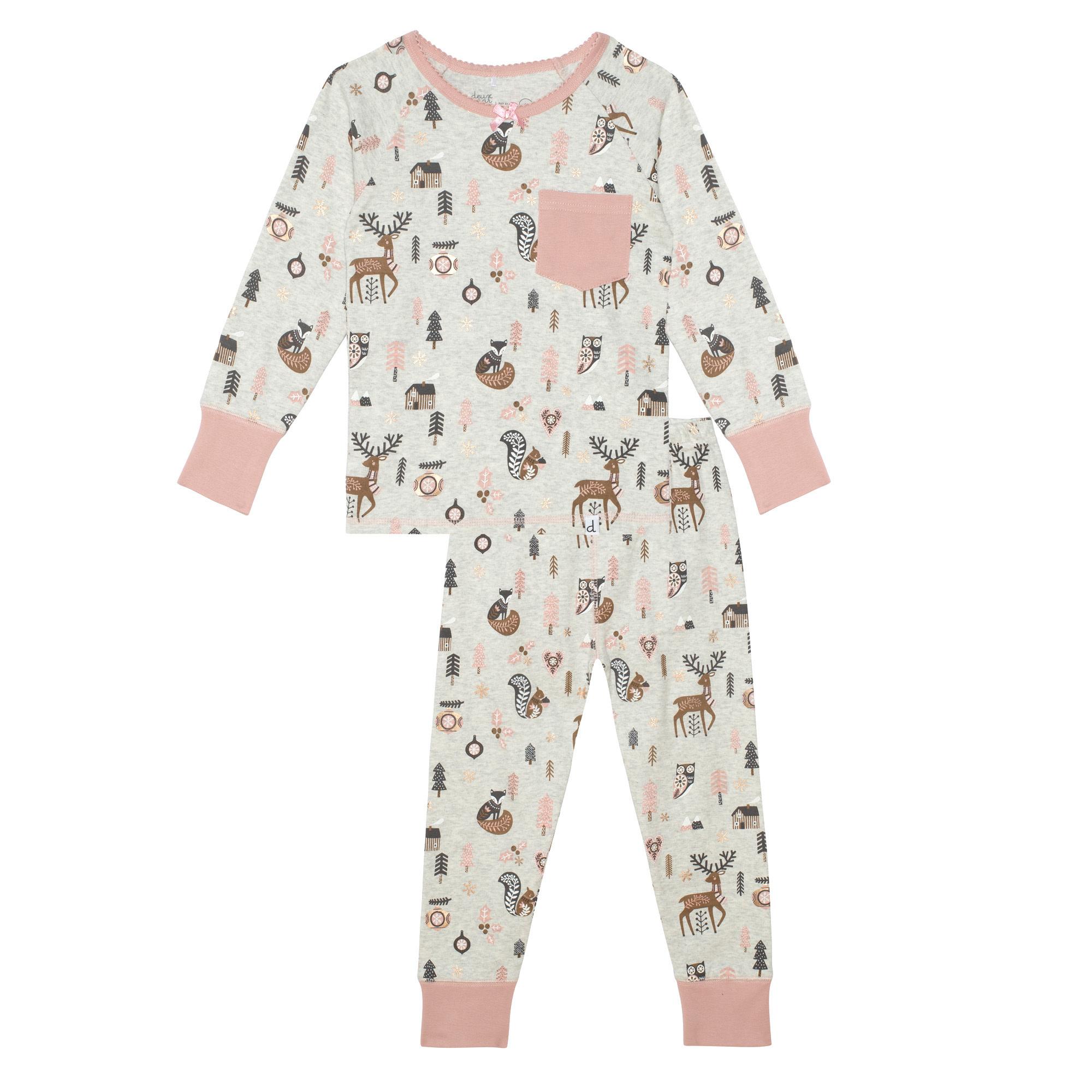 Pyjama Noël Forêt-1