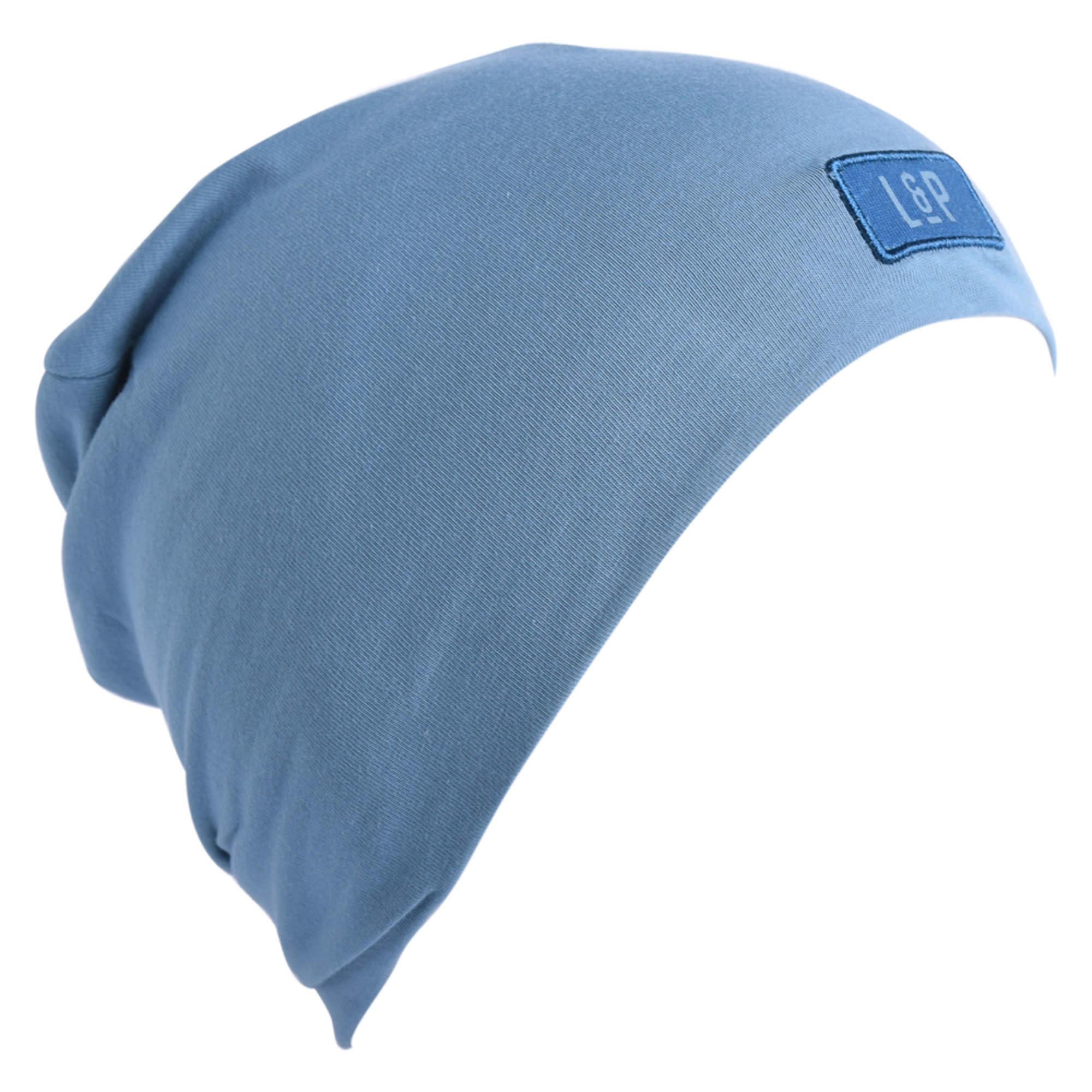 Tuque Coton - BOSTON V20 Bleu Mer-1