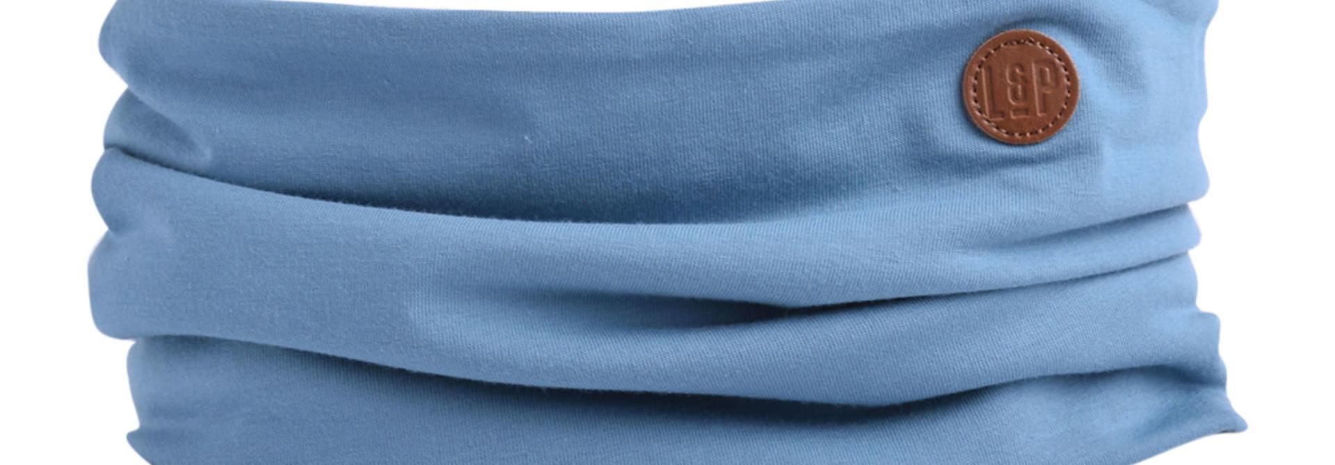 Foulard en Coton - Bleu Mer