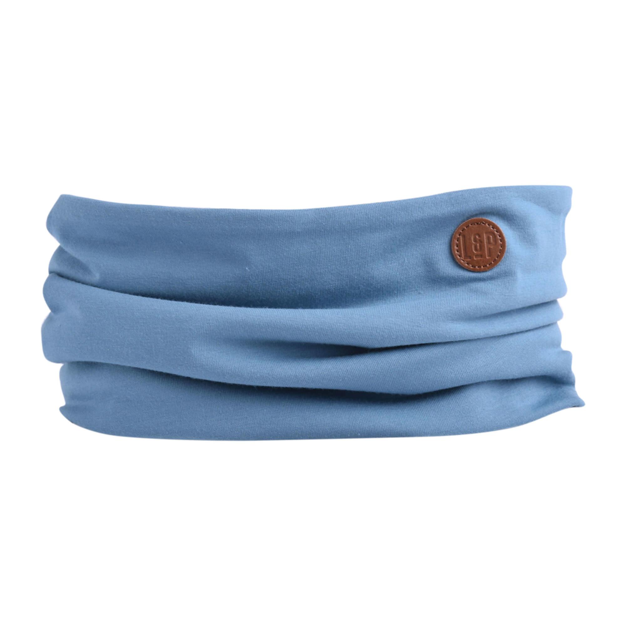 Foulard en Coton - Bleu Mer-1