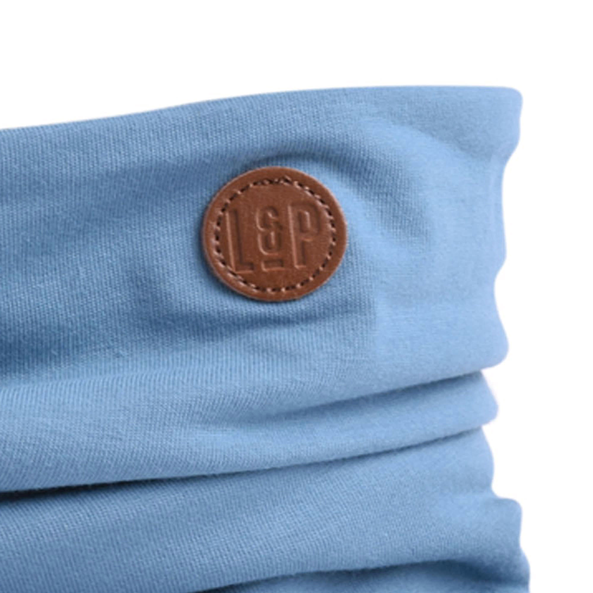 Foulard en Coton - Bleu Mer-4