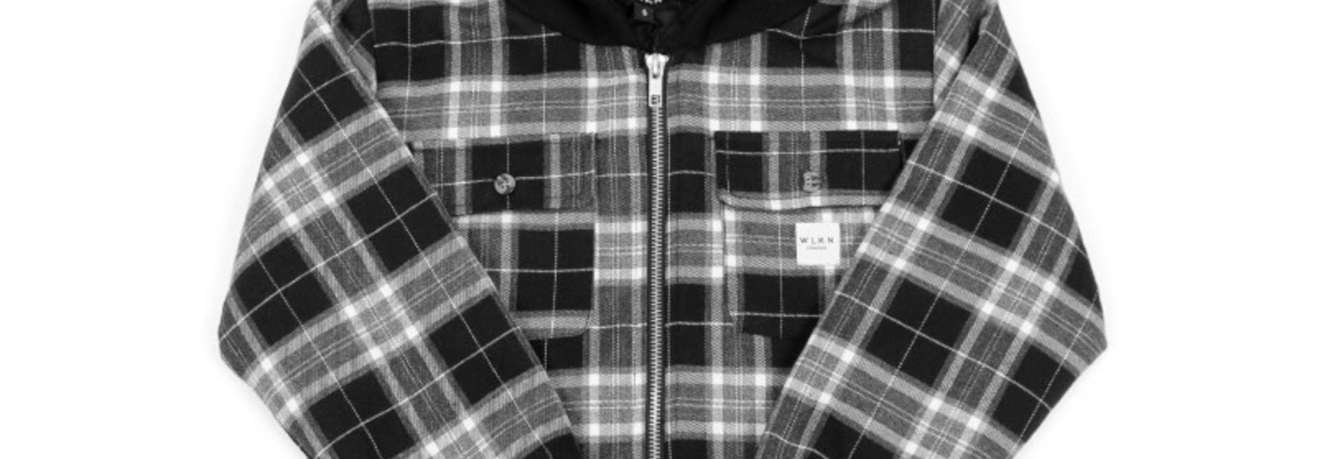 Jacket Capuchon Noir