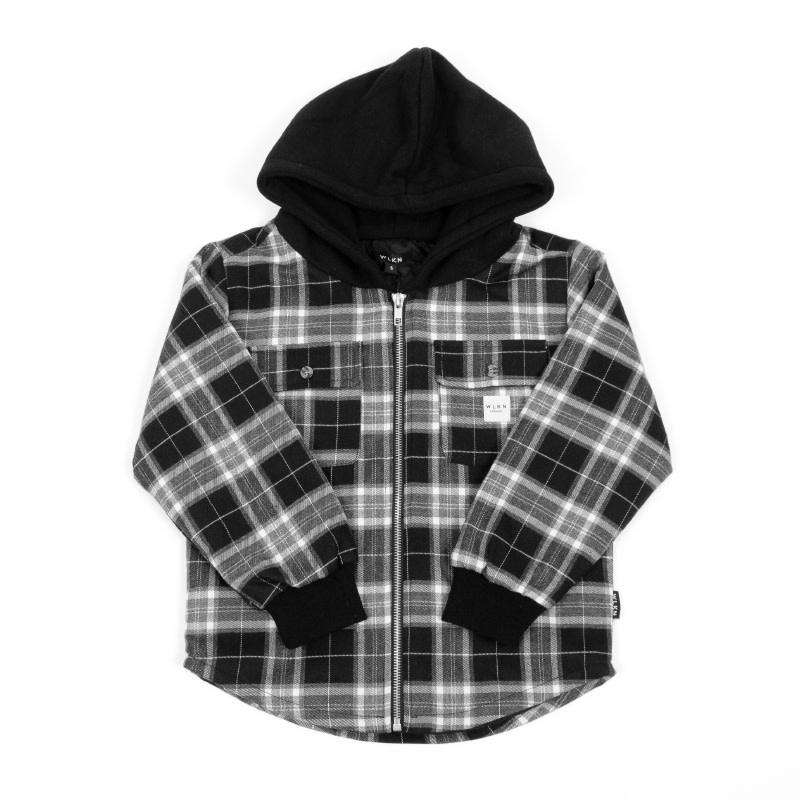 Jacket Capuchon Noir-1