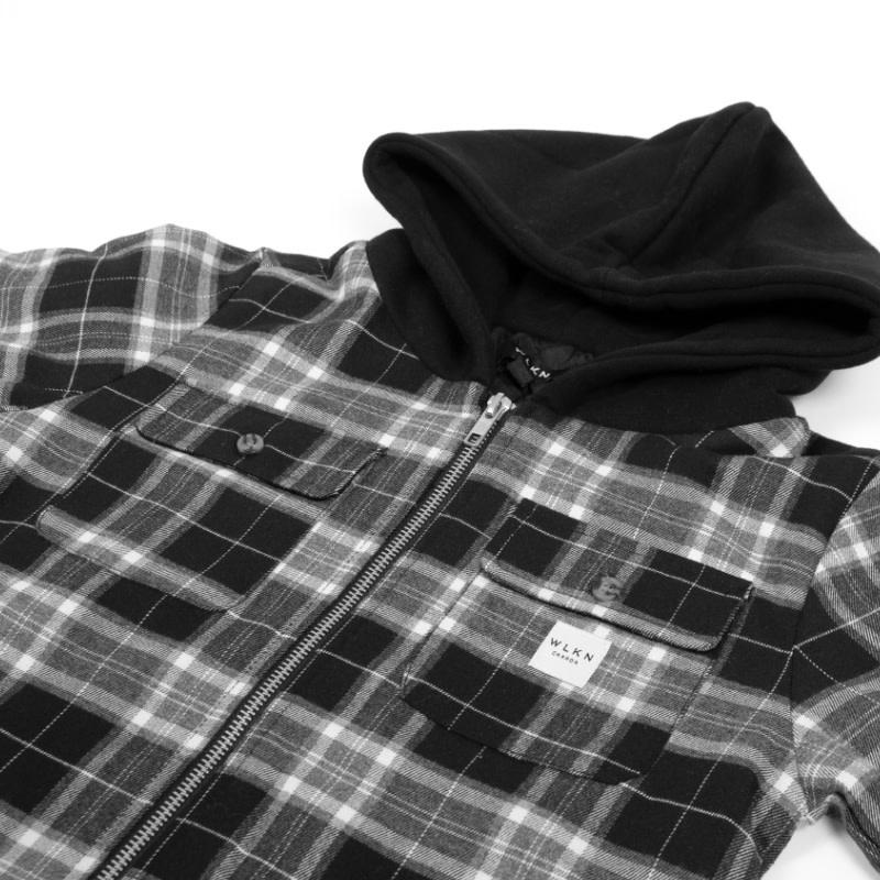 Jacket Capuchon Noir-2