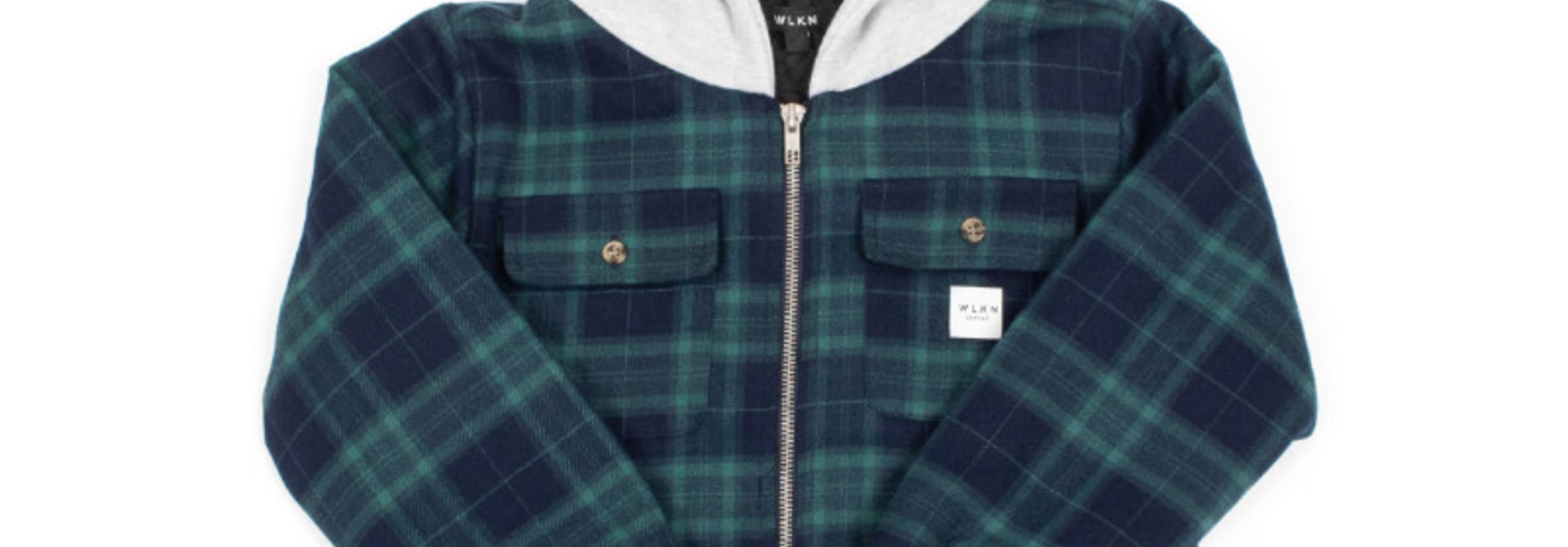 Jacket Capuchon Vert