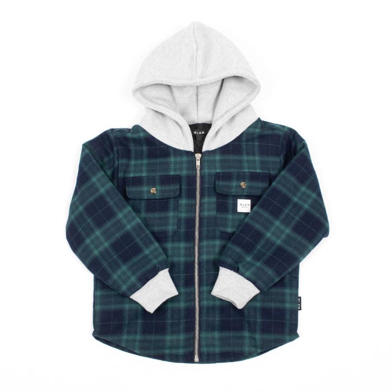 Jacket Capuchon Vert-1