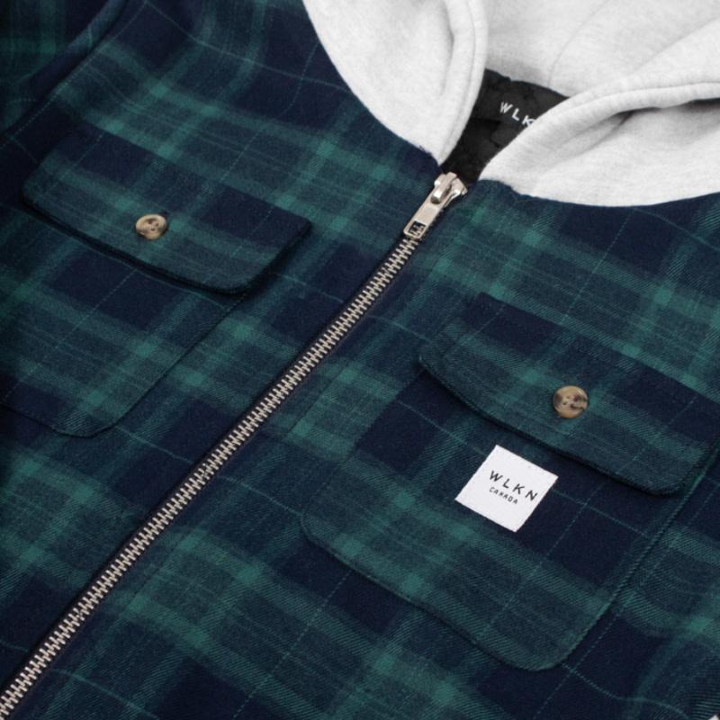 Jacket Capuchon Vert-8