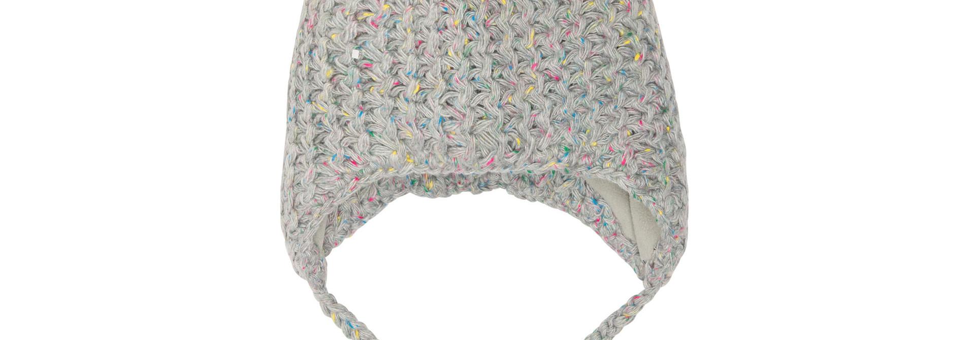 Tuque en tricot Gris