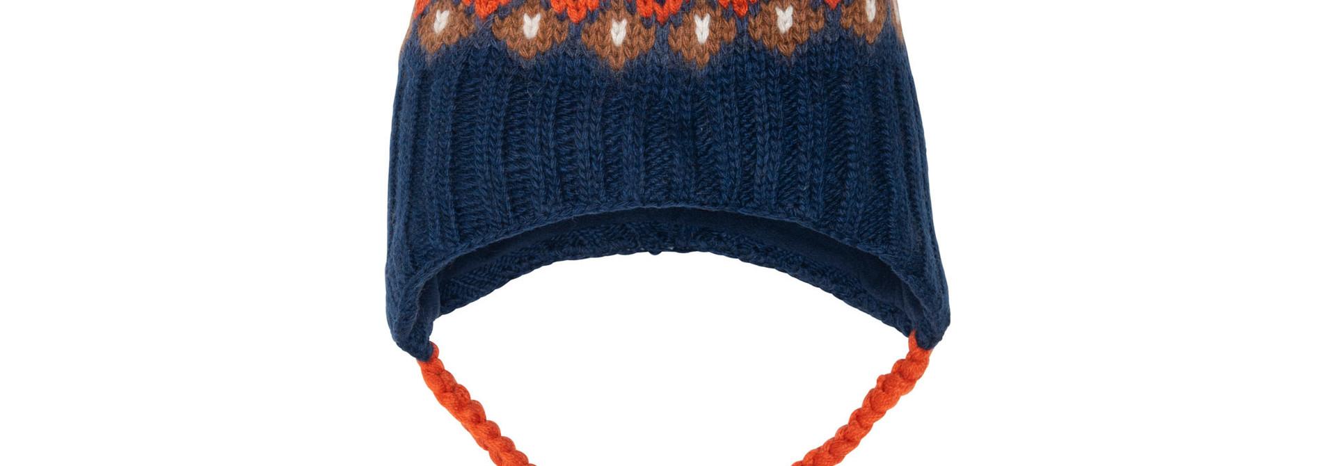 Tuque en tricot Renard