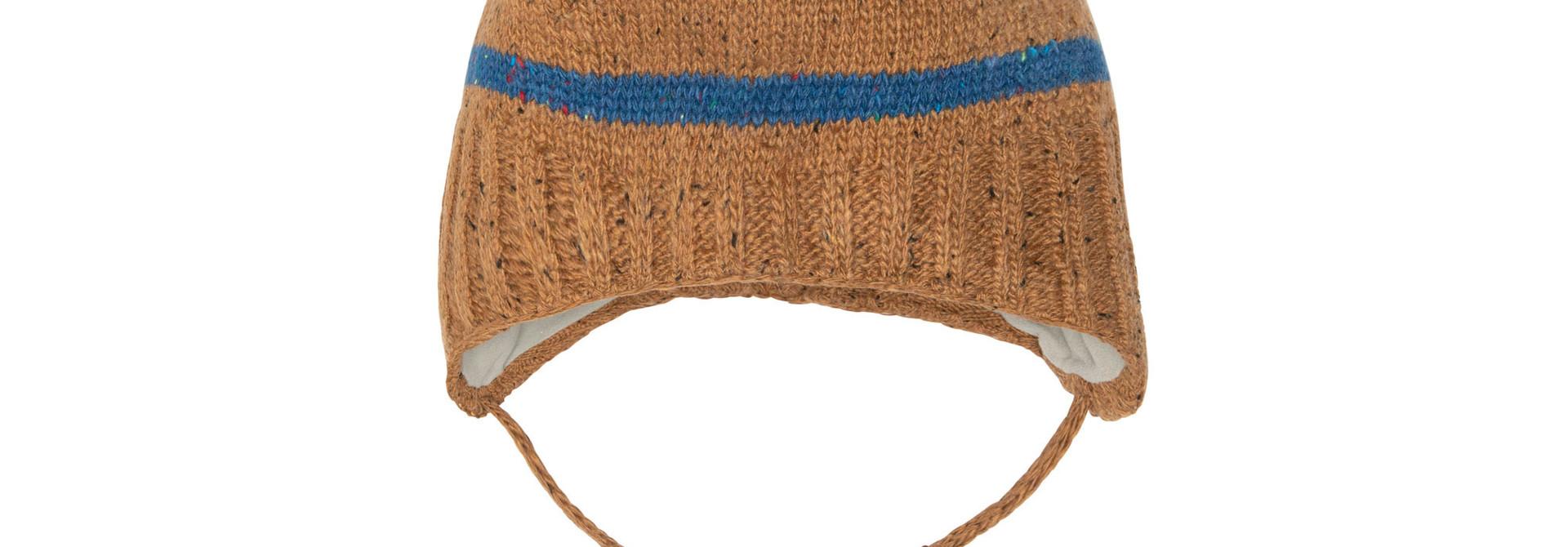 Tuque bébé en tricot Ours Polaire