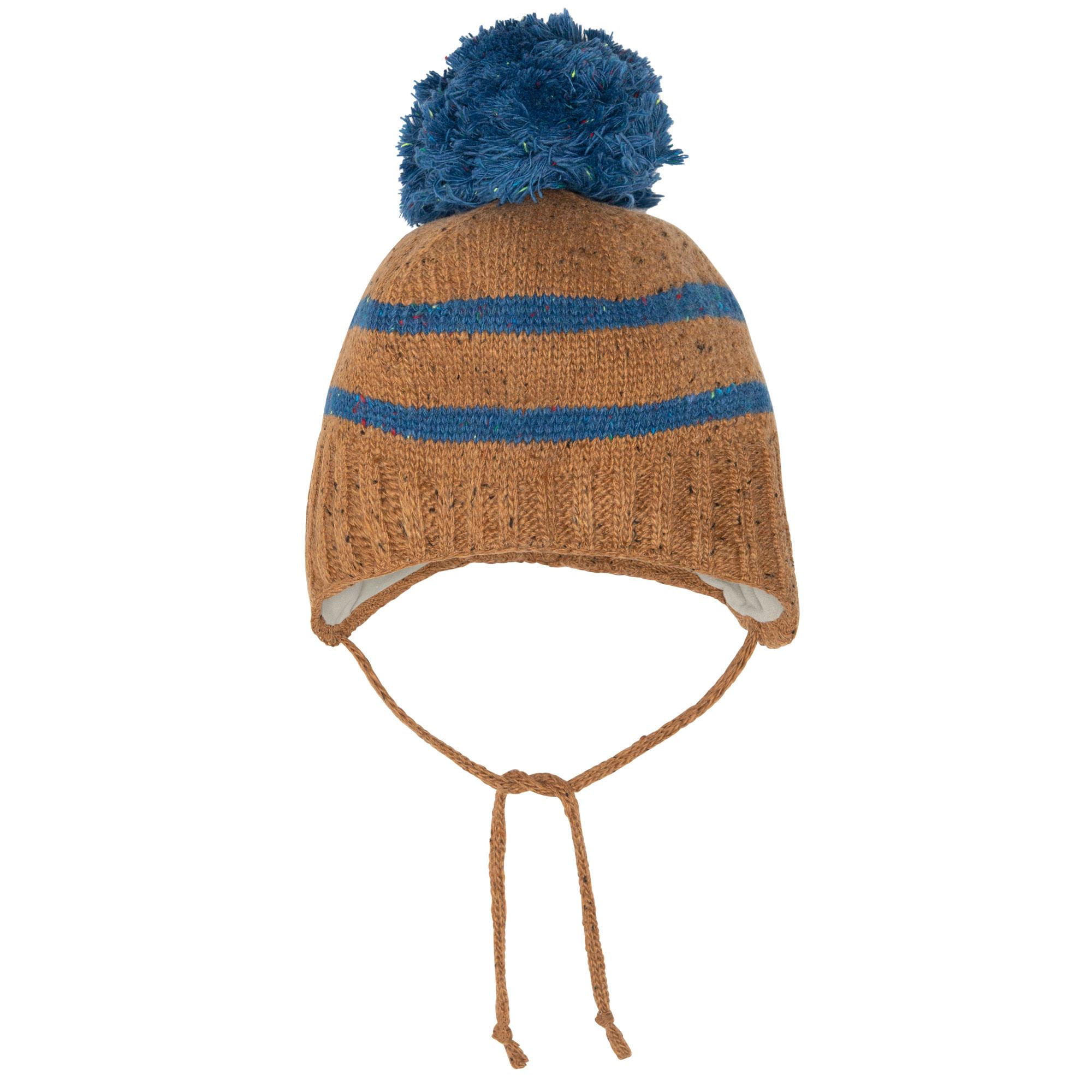 Tuque bébé en tricot Ours Polaire-4