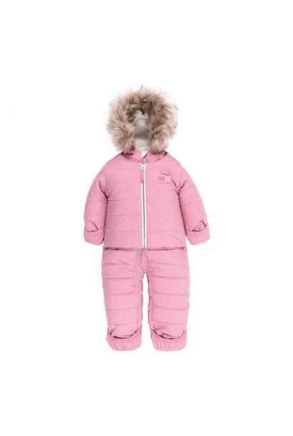 Habit de neige bébé - Mont Hibou Rose