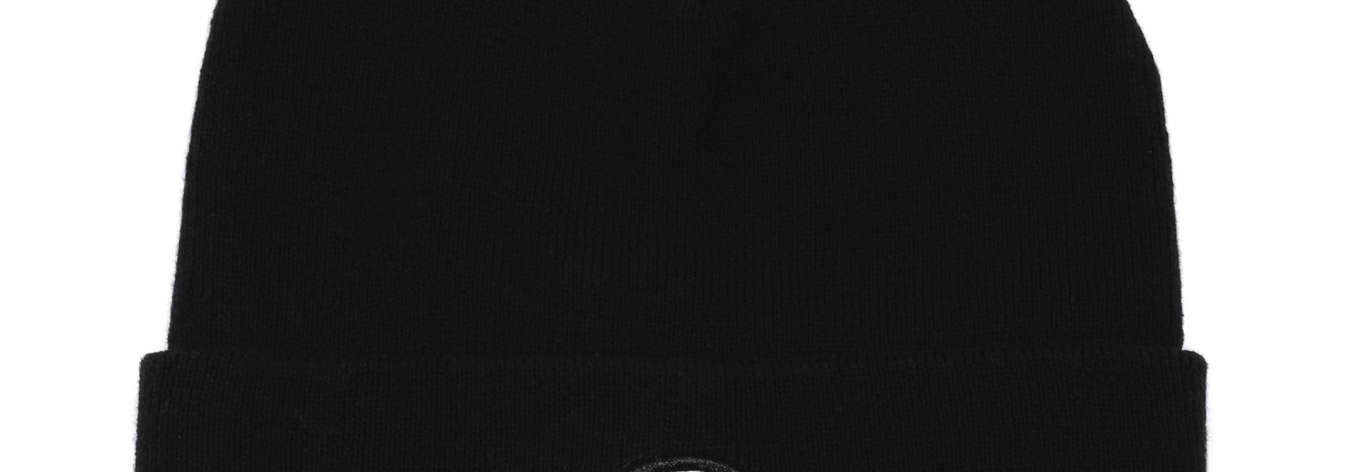 Tuque bébé en tricot Noire