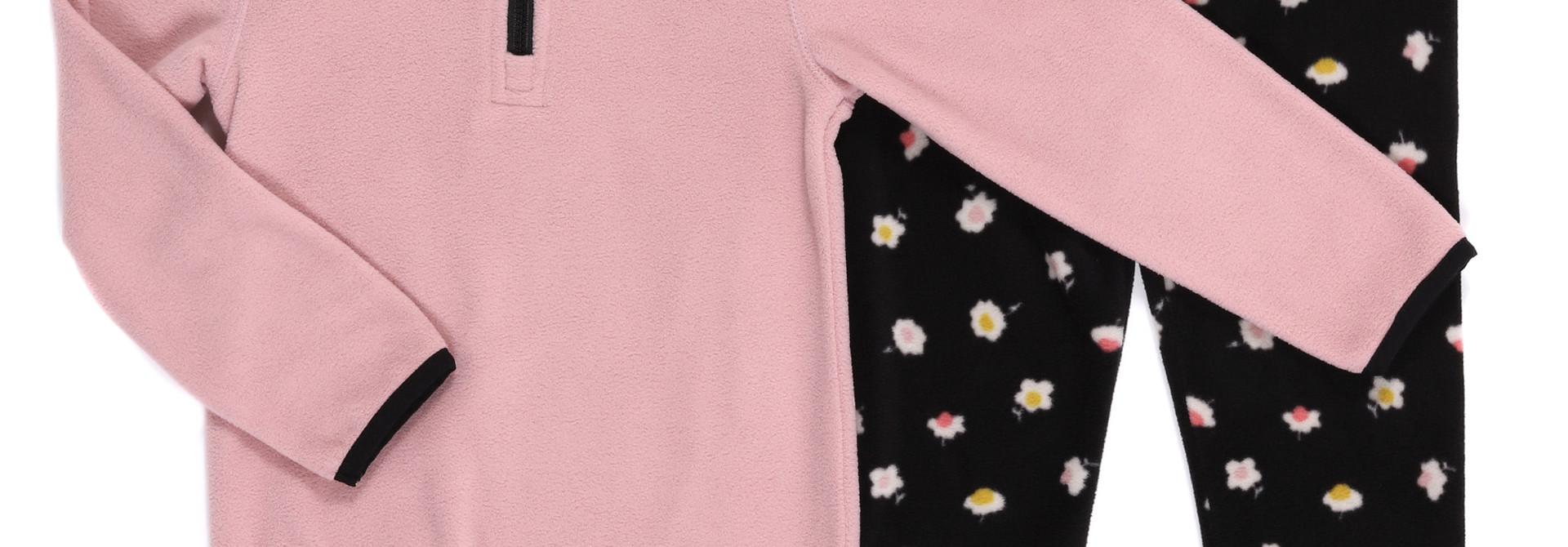 Sous-vêtement en micropolar Rose
