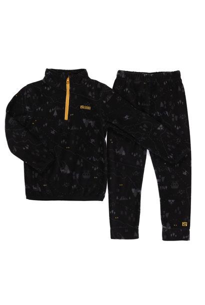 Sous-vêtement en micropolar Noir Ski