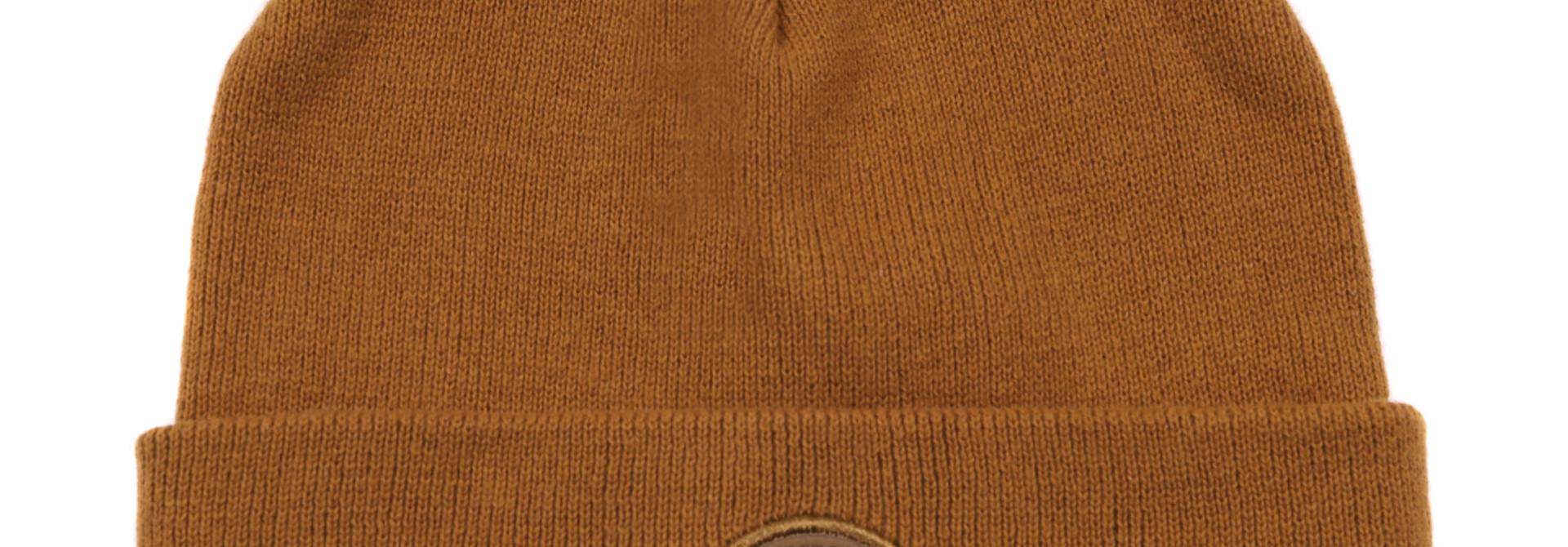 Tuque en tricot Taupe