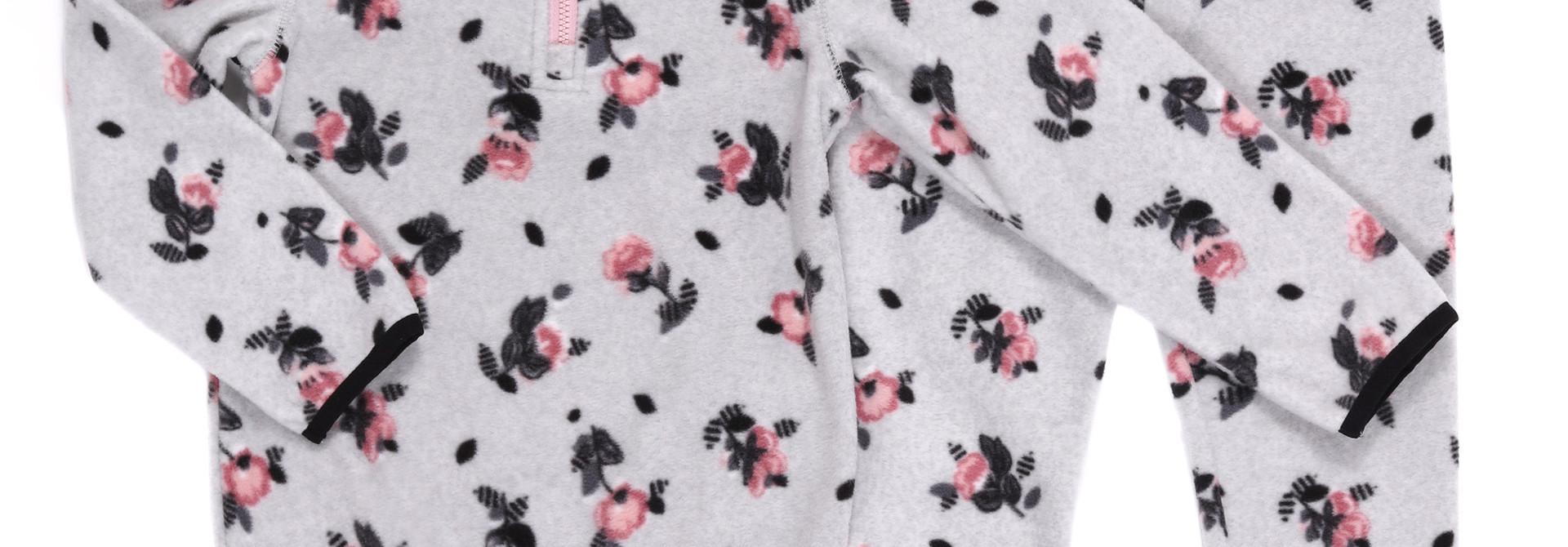 Sous-vêtement en micropolar Fleurs