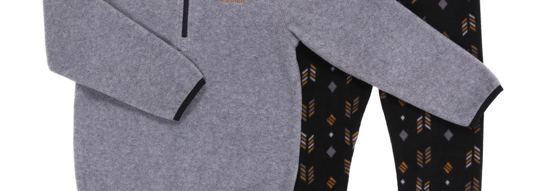 Sous-vêtement en micropolar Gris