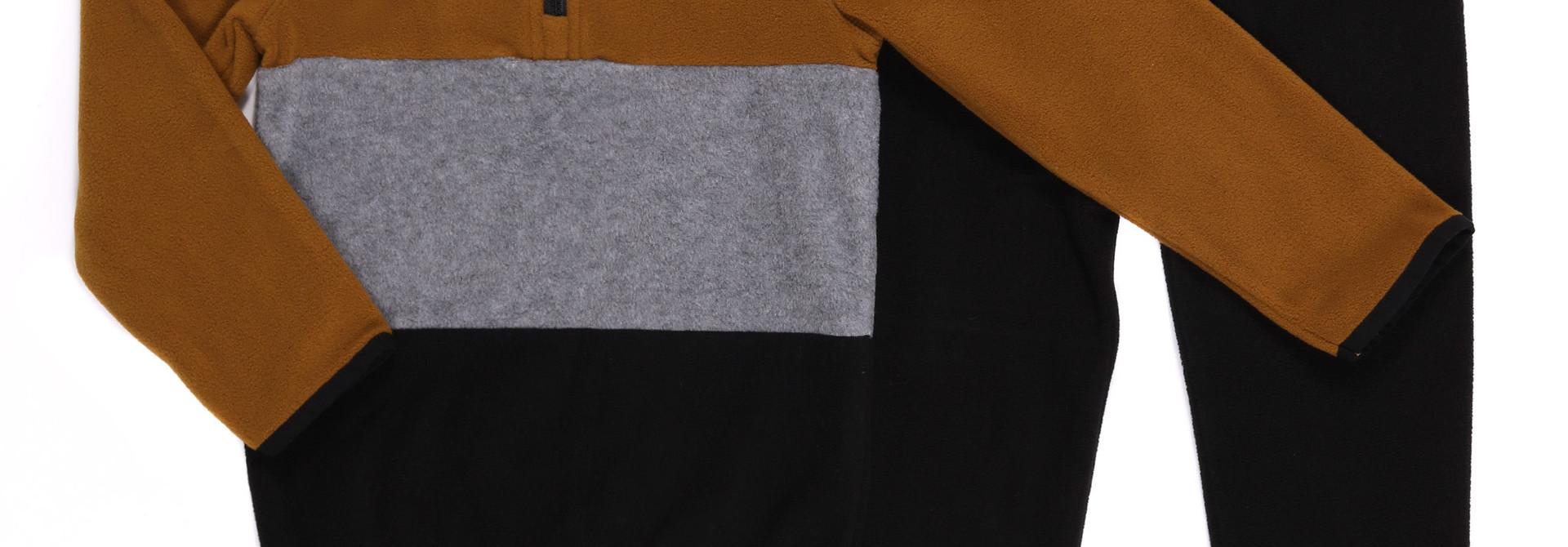 Sous-vêtement en micropolar Taupe