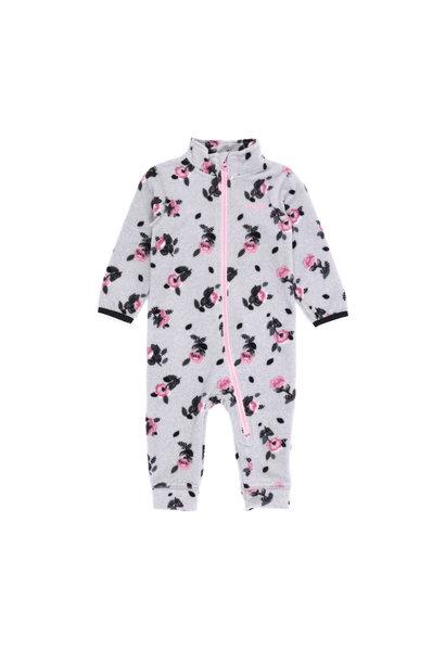 Sous-vêtement en micropolar bébé Fleurs