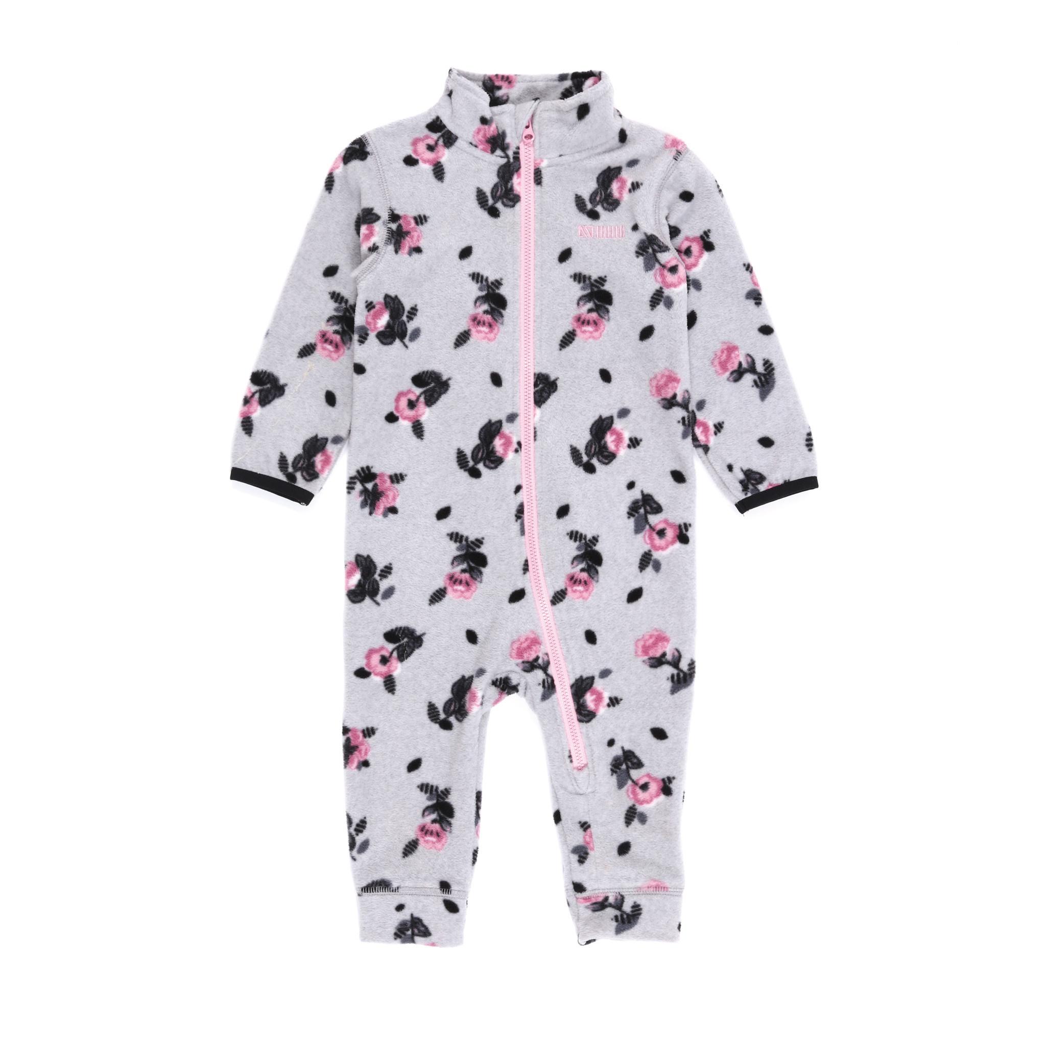 Sous-vêtement en micropolar bébé Fleurs-1