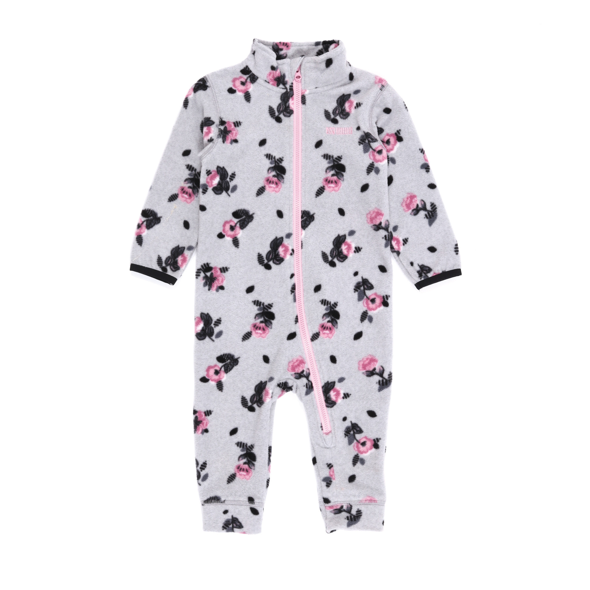 Sous-vêtement en micropolar bébé Fleurs-4