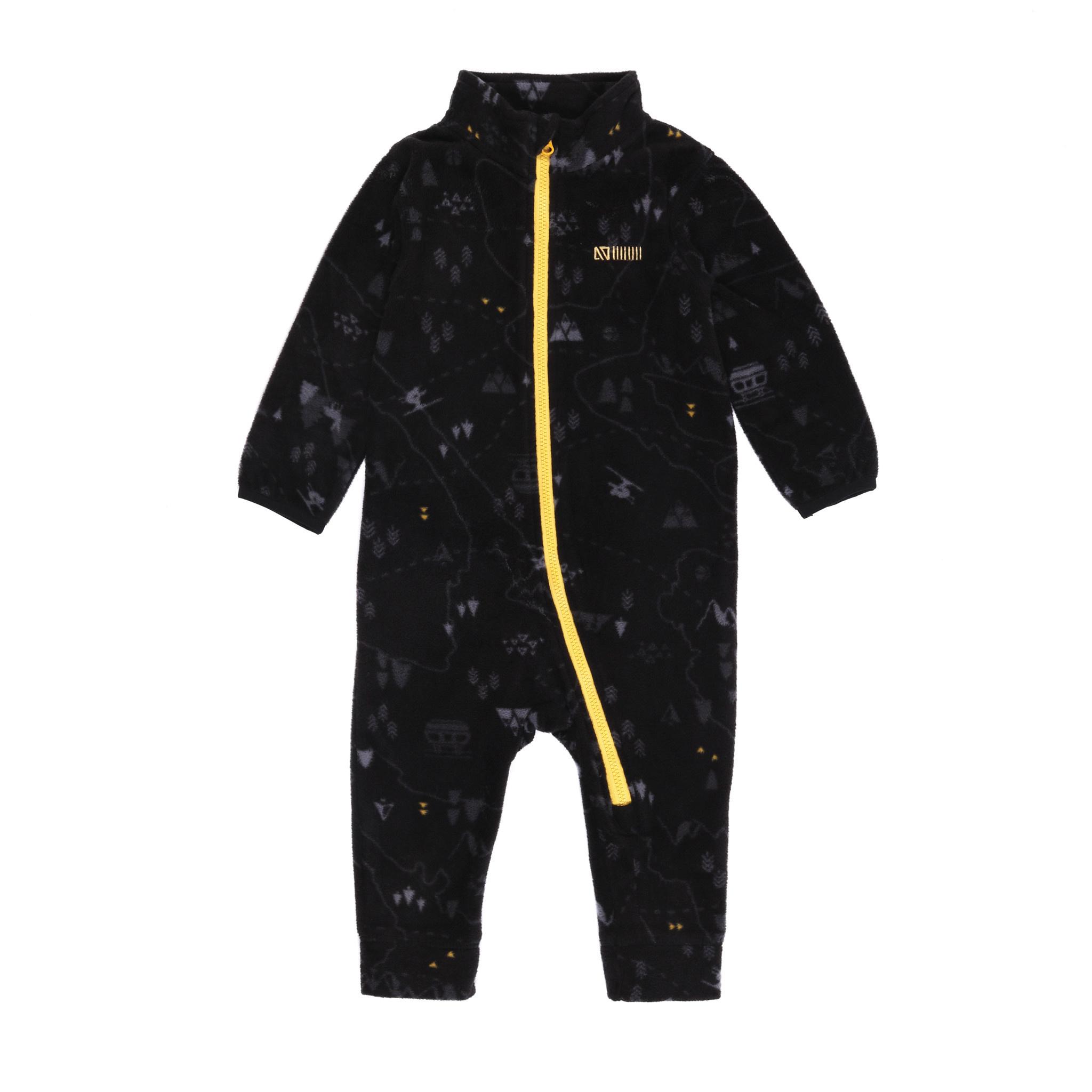 Sous-vêtement en micropolar  bébé Noir Ski-1