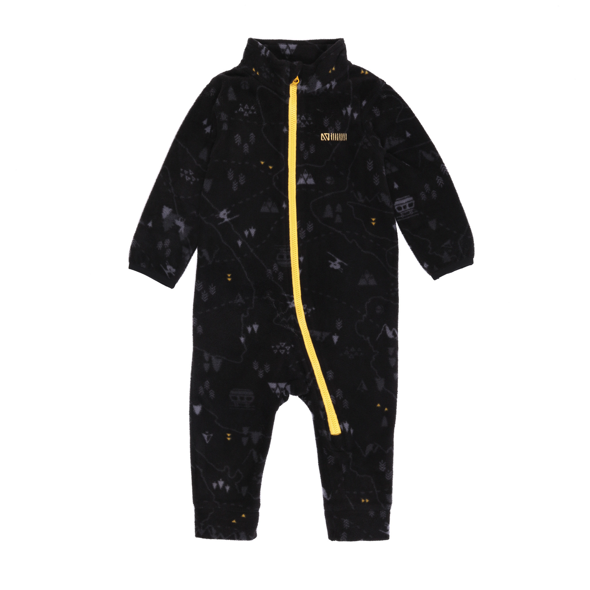 Sous-vêtement en micropolar  bébé Noir Ski-2