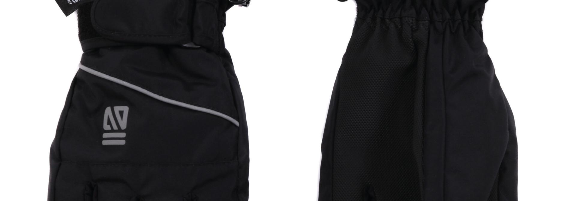 Gants d'hiver Noir