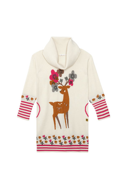 Robe Tricot Cerf