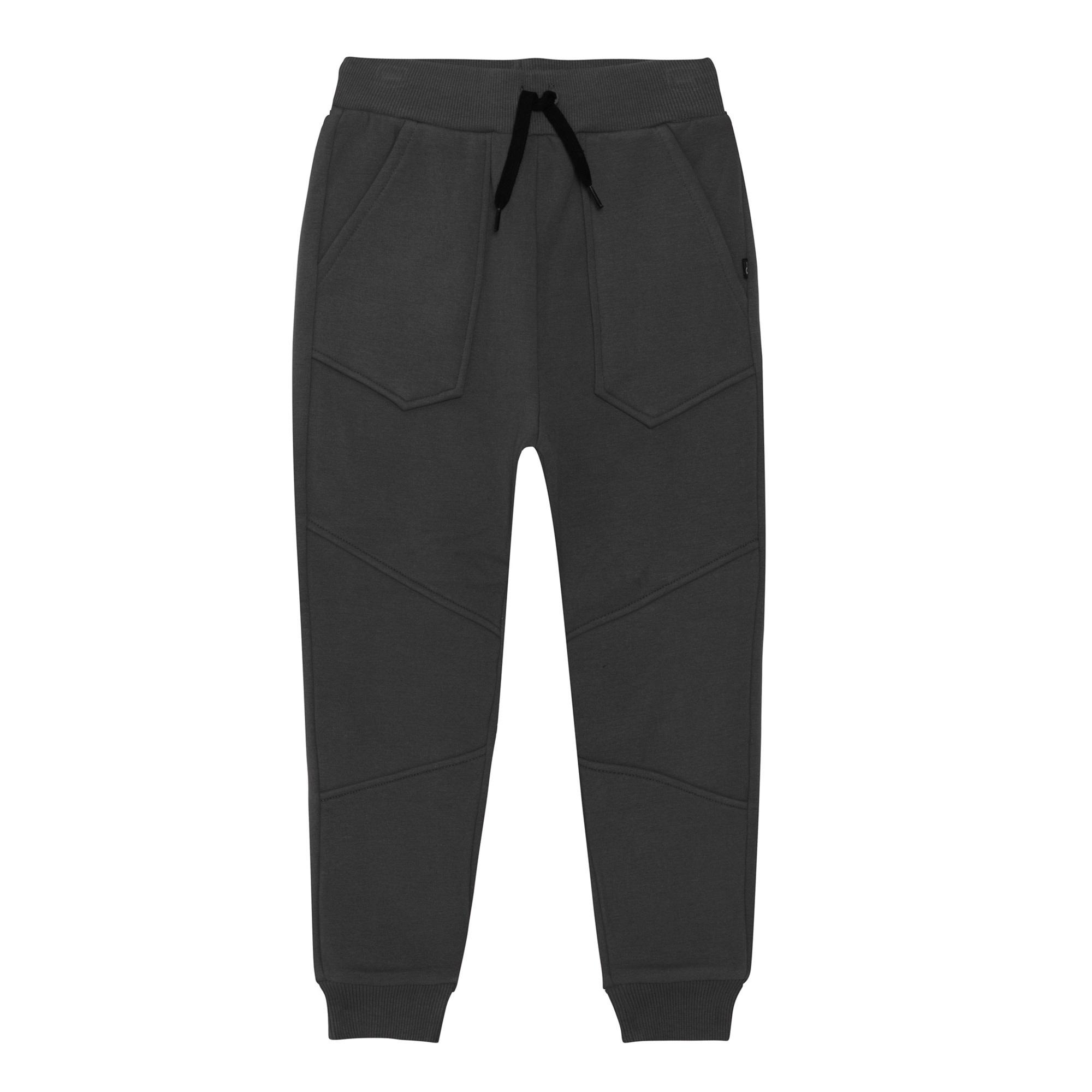 Pantalon Jogger Gris-7
