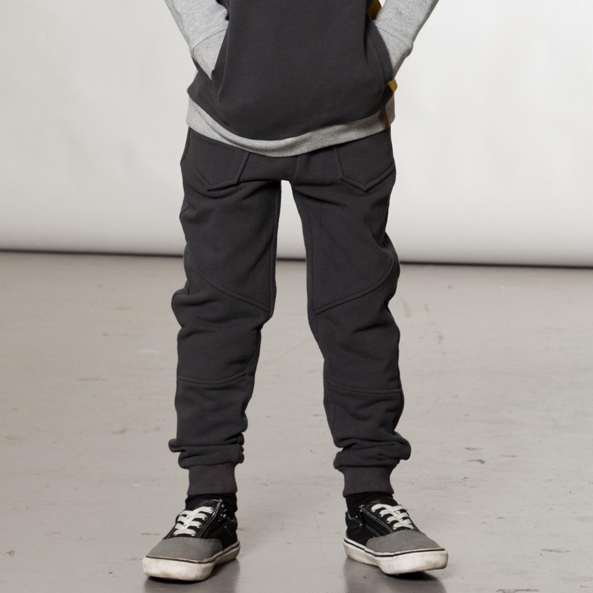 Pantalon Jogger Gris-8