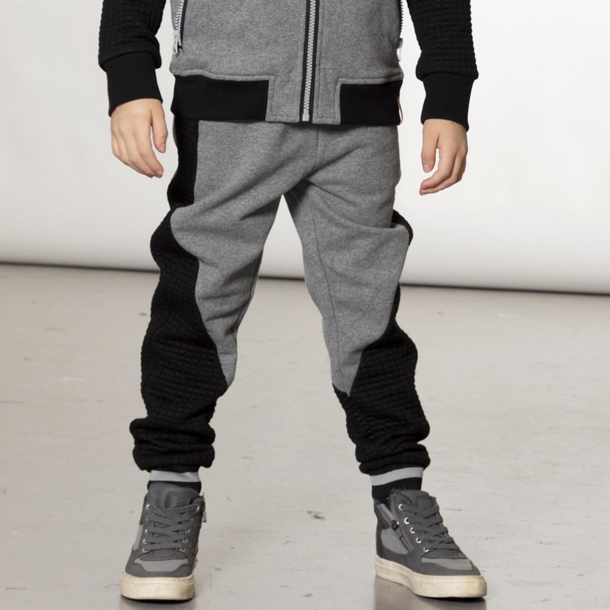 Pantalon Jogging Gris/Noir-5