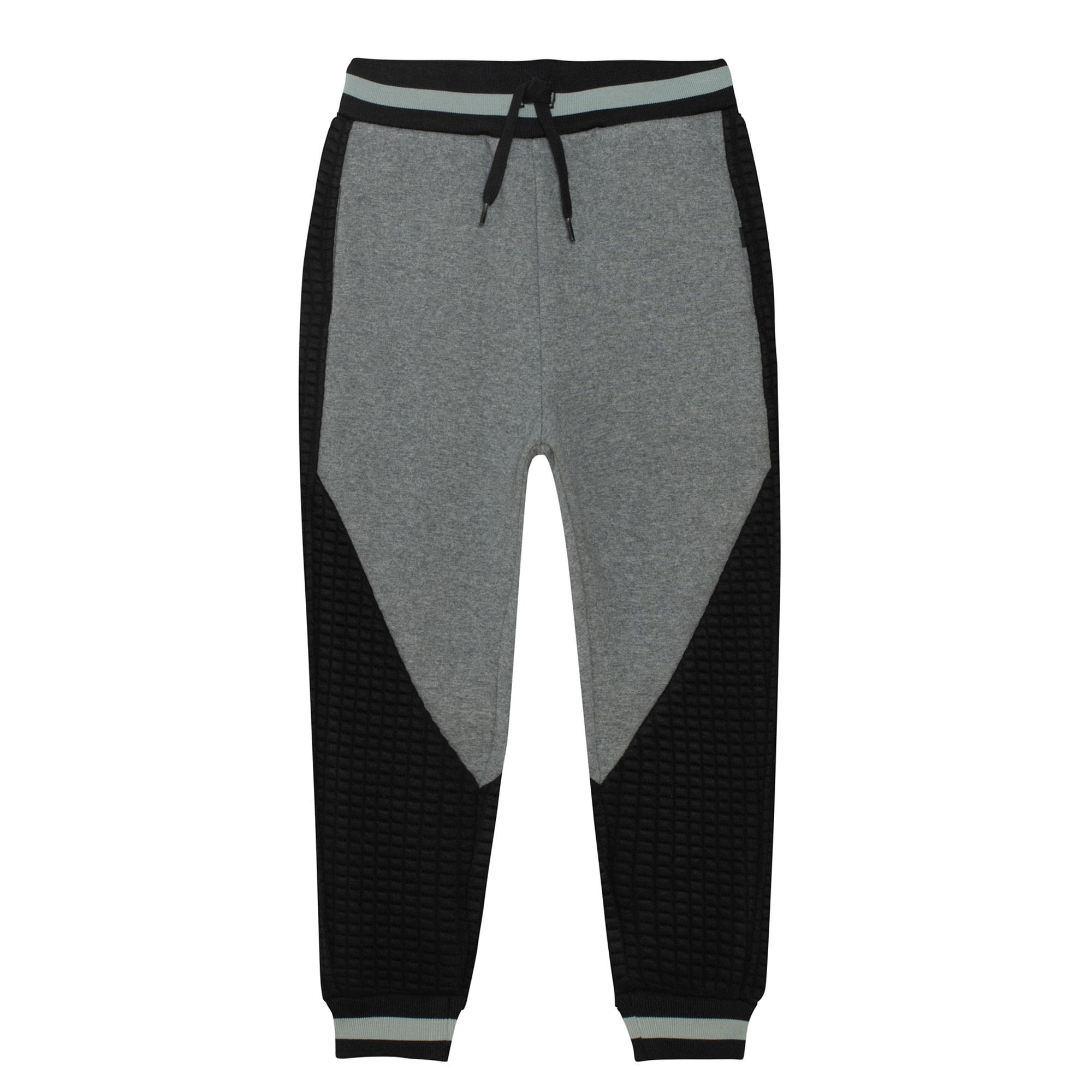 Pantalon Jogging Gris/Noir-7