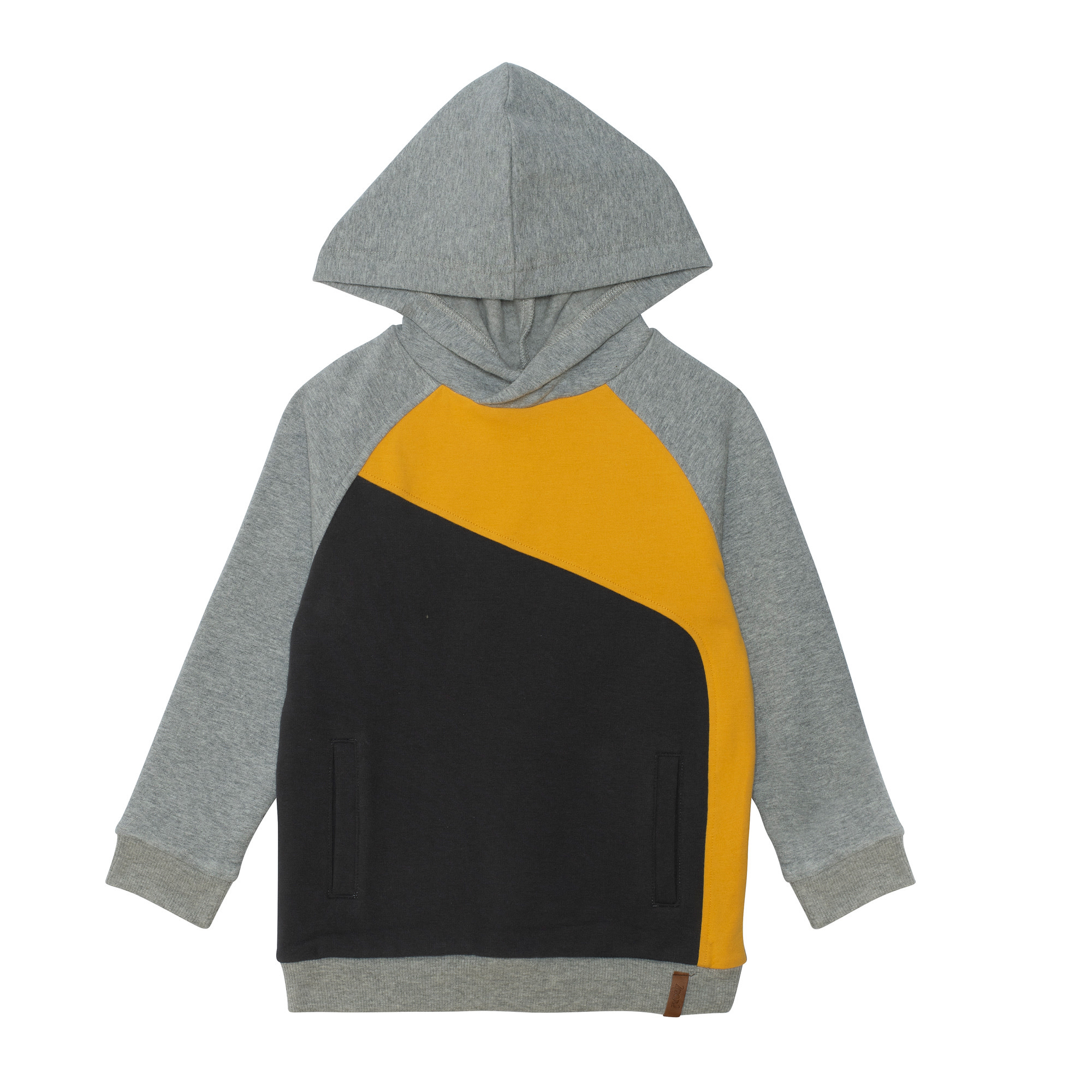 Hoodie Bloc Jaune-1