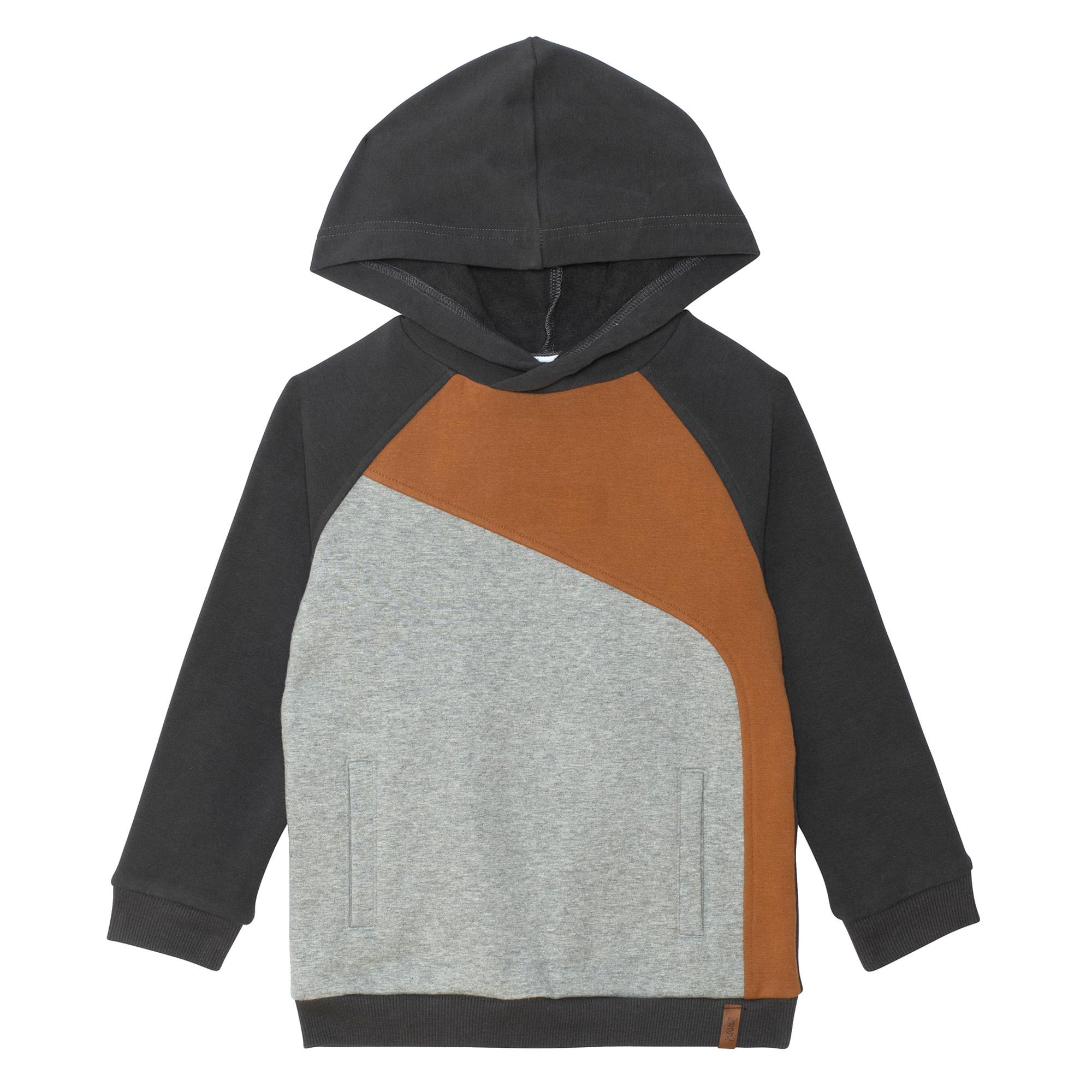 Hoodie Bloc Taupe-5