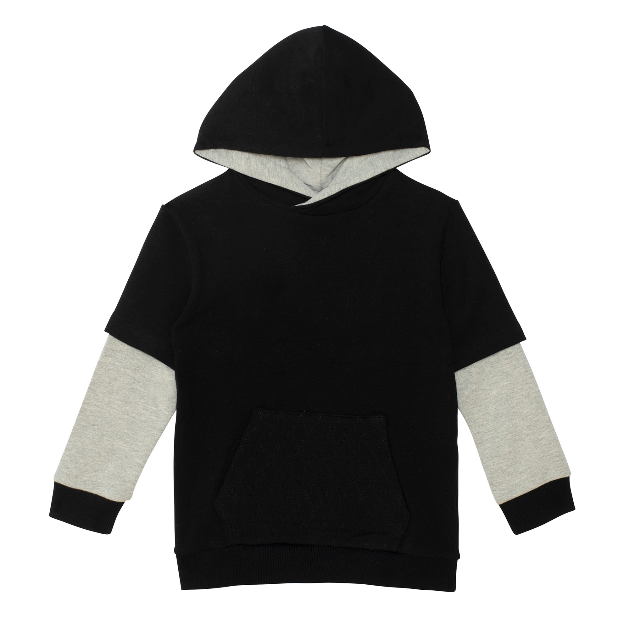 Hoodie Anthracite-1