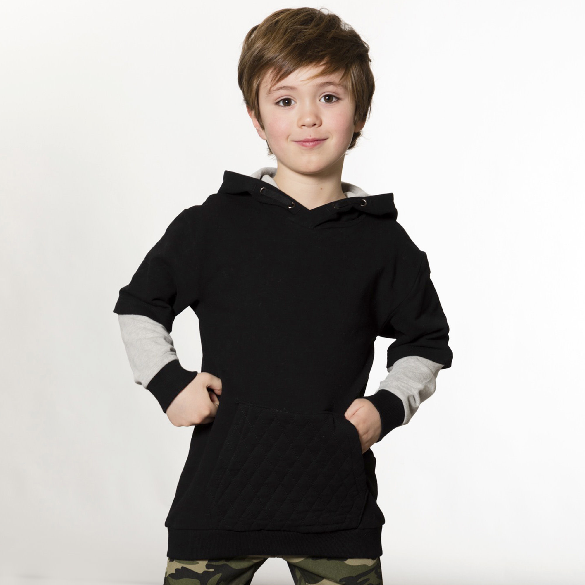 Hoodie Anthracite-2