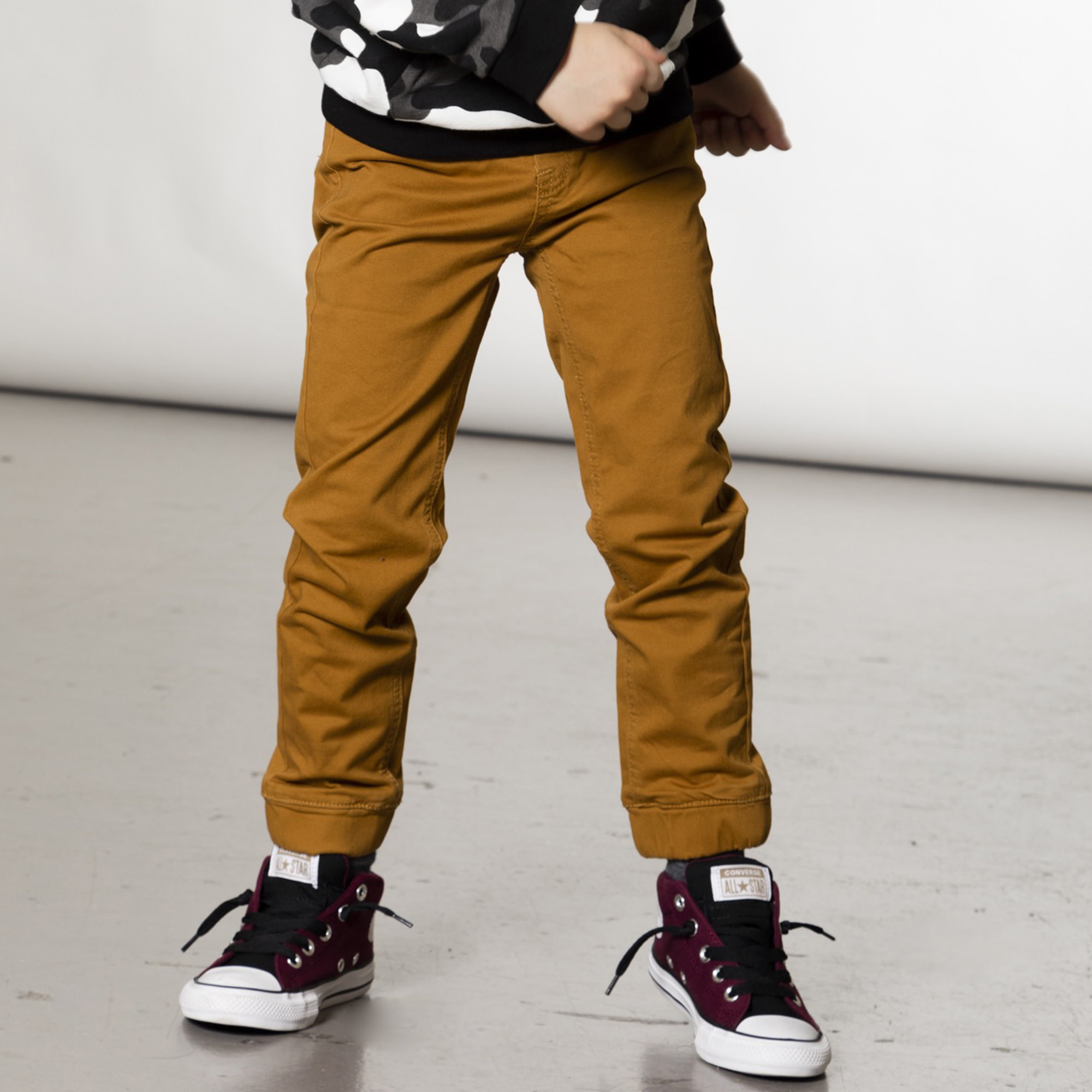 Pantalon Jogger Taupe Uni-2