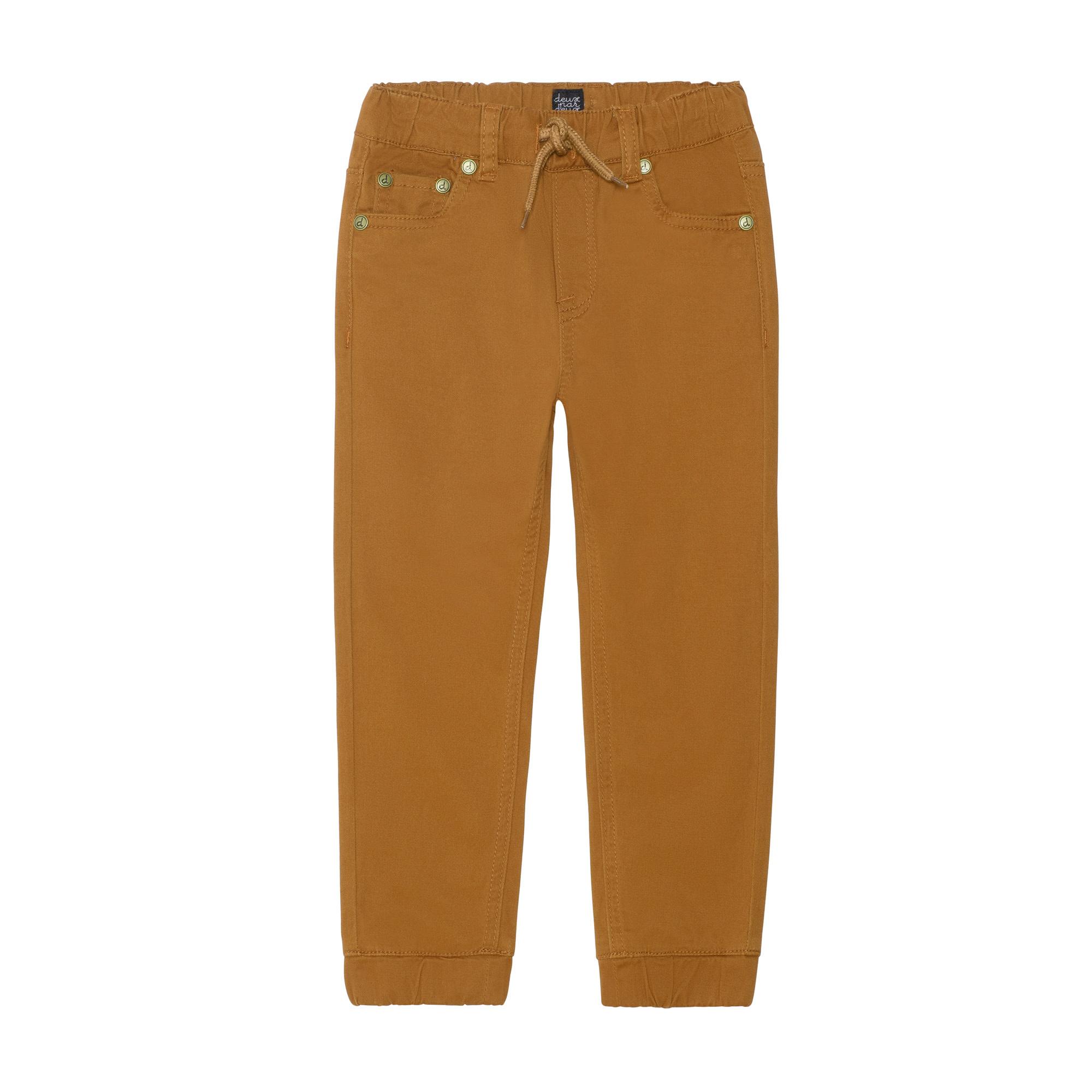 Pantalon Jogger Taupe Uni-4