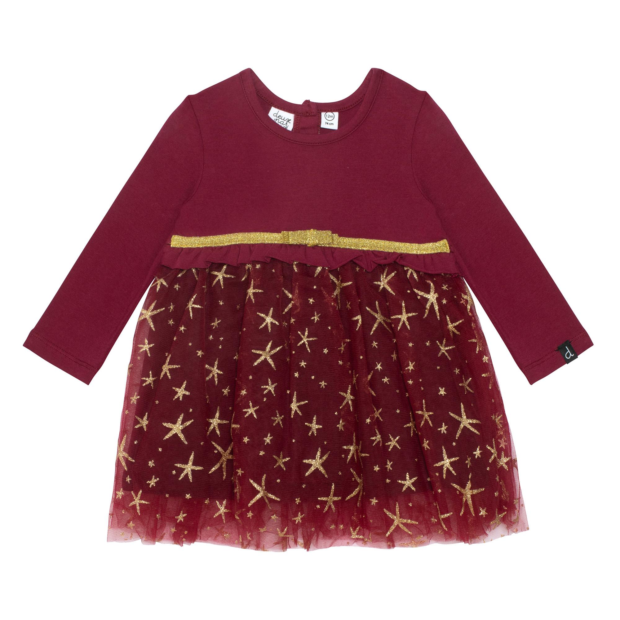 Robe Noël Étoile Rouge-1