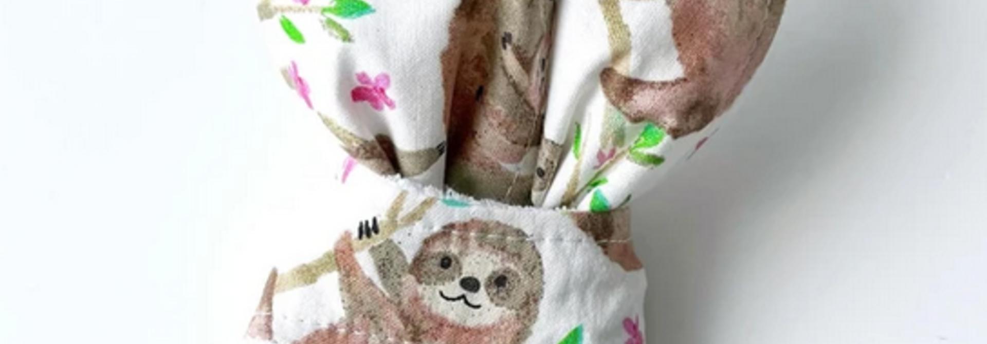 Hochet Oreilles de Lapin - Paresseux