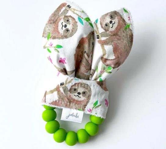 Hochet Oreilles de Lapin - Paresseux-1