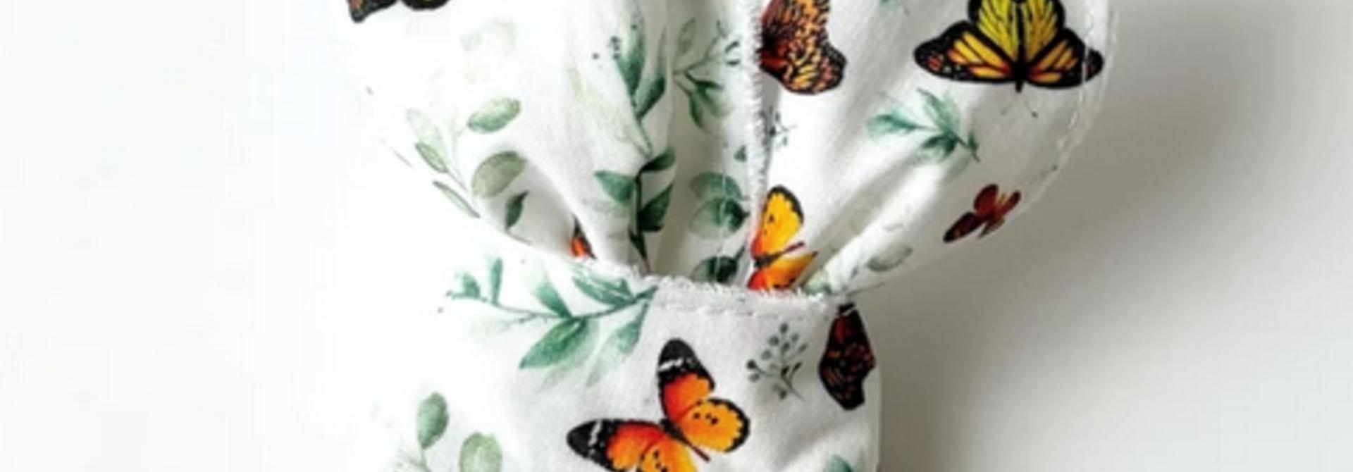 Hochet Oreilles de Lapin - Papillons