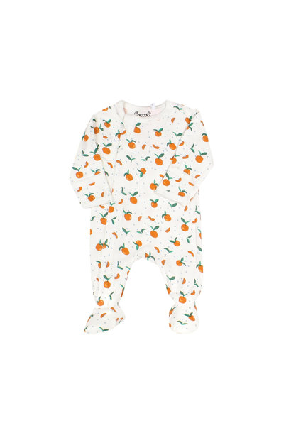 Pyjama Zipper - Abricot