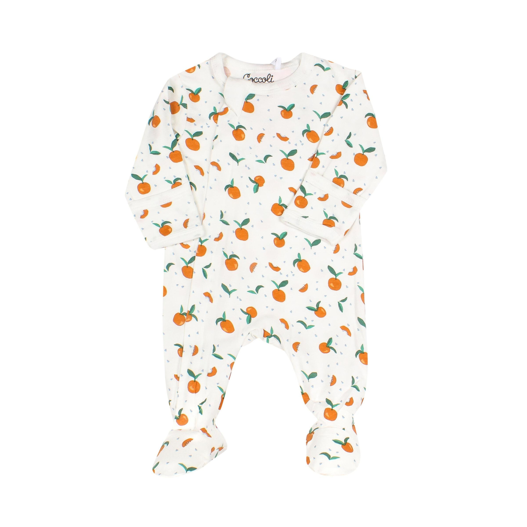 Pyjama Zipper - Abricot-1