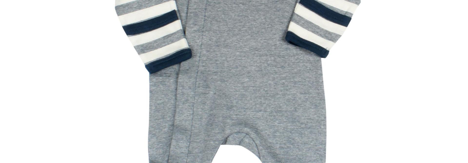 Pyjama Zipper - Combo Bleu